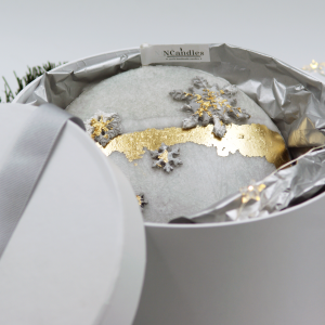 Коледна Свещ от естествен восък -