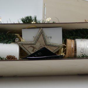 Ароматни свещи за подарък в дървена кутия - NCandles - Снимка 3