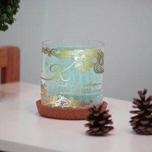 Персонализирана декоративна свещ от серията