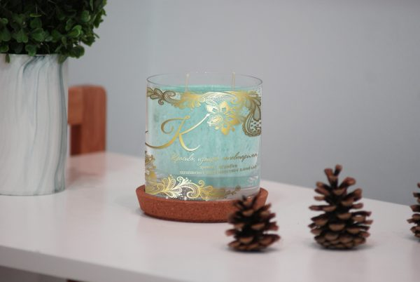"""Персонализирана декоративна свещ от серията """"Тя"""""""