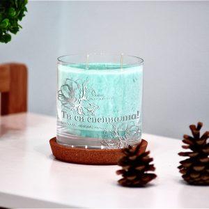 Луксозна декоративна свещ от серията